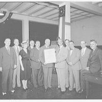 Judd & Detweiler, Inc. Award ceremony with certificate of merit II