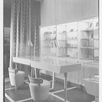 Kobrin Bros., business at 2279 Broadway, New York City. Table display cases