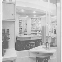Leron, business on Fordham Rd., New York City. Interior I