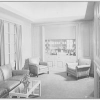 Levinsohn Brothers & Co., 79 5th Ave., New York City. Private office, to bar