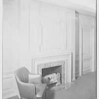 Levinsohn Brothers & Co., 79 5th Ave., New York City. Private office, to fireplace