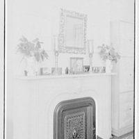 Margaret Sommerfeld, residence at 168 E. 64th St., New York City. Bedroom mantel