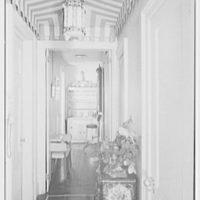 Melvin Rivard, residence at 122 E. 37th St., New York City. Foyer, to bar
