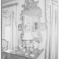 Mr. and Mrs. C. Frederick C. Stout, residence on Glenn Ave., Ardmore, Pennsylvania. China room mirror