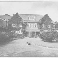 Mr. and Mrs. C. Frederick C. Stout, residence on Glenn Ave., Ardmore, Pennsylvania. Entrance facade II