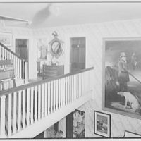 Mr. and Mrs. C. Frederick C. Stout, residence on Glenn Ave., Ardmore, Pennsylvania. Upper hall