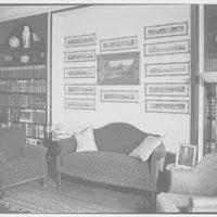 Mrs. Fahnestock, residence at 790 Park Ave., New York City. Library I