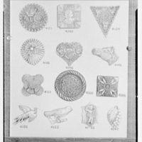 Mrs. J. Hodson, Greenwich, Connecticut. Plastic ornaments I