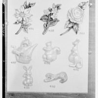 Mrs. J. Hodson, Greenwich, Connecticut. Plastic ornaments III