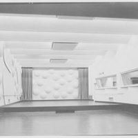 National Broadcasting Co., Rockefeller Center, New York. Studio, general view