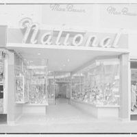 National Shoe Stores, business at 1035 Central Ave., Far Rockaway. Exterior