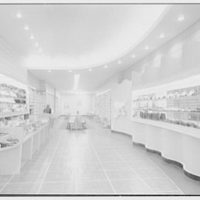 National Shoe Stores, business at 1035 Central Ave., Far Rockaway. General interior, to rear