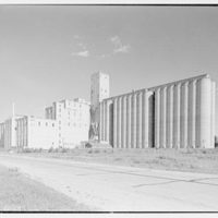 Rahr Malting Co., Shakopee, Minnesota. North facade at 5 p.m.