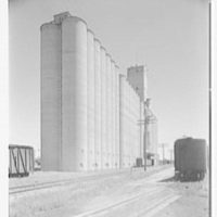 Rahr Malting Co., Shakopee, Minnesota. South facade, sharp from west I
