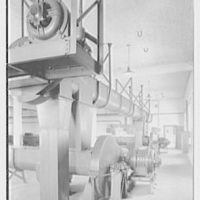 Rahr Malting Co., Shakopee, Minnesota. Top of kiln II, vertical