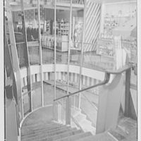 Rockabye, business at 1401 Ave. J, Brooklyn, New York. Looking down stairs