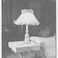 Sterling Advertising Agency, Inc., 70 W. 40th St., New York City. Large skirt shade lamp
