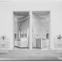 U.S. Naval Hospital Chapel, St. Albans, Long Island, New York. Revolving altar