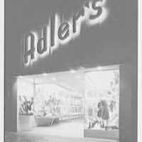 Adler's, business at 990 Flatbush Ave., Brooklyn, New York. Exterior