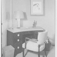Albert Tramer, residence at 141 E. 56th St., New York City. Desk
