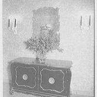 Albert Tramer, residence at 141 E. 56th St., New York City. Foyer