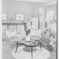 Albert Tramer, residence at 141 E. 56th St., New York City. Living room I