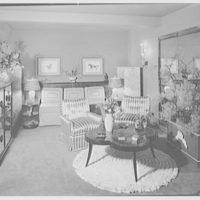 Albert Tramer, residence at 141 E. 56th St., New York City. Living room II