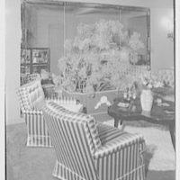 Albert Tramer, residence at 141 E. 56th St., New York City. Living room III