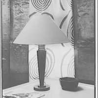 America House, Goodheart furniture store, 2101 K St. Table lamp II