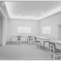 Bonwit Teller, business at 17th and Chestnut, Philadelphia, Pennsylvania. Interior X
