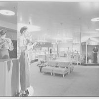 Bonwit Teller, business at 17th and Chestnut, Philadelphia, Pennsylvania. Interior VII