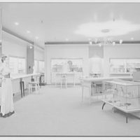 Bonwit Teller, business at 17th and Chestnut, Philadelphia, Pennsylvania. Interior V