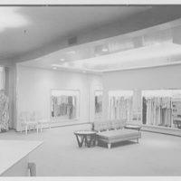 Bonwit Teller, business at 17th and Chestnut, Philadelphia, Pennsylvania. Interior XI