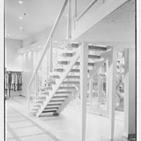 Crawford Clothes, business at 225 Main St., Paterson, New Jersey. Staircase