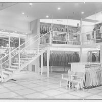 Crawford Clothes, business at 225 Main St., Paterson, New Jersey. View to staircase