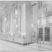 Dollar Savings Bank, Grand Concourse, New York. Interior VI