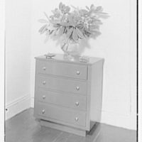 Dr. and Mrs. William A. Atchley, residence at 1325 2nd Ave., New York City. Commode I