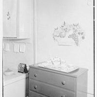 Dr. and Mrs. William A. Atchley, residence at 1325 2nd Ave., New York City. Kitchen commode