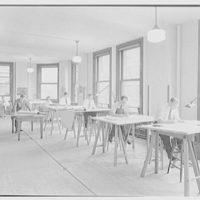 Eggers & Higgins, 71 Water St., New York City. Drafting room, second floor