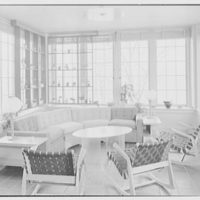 F.H. Swift, residence at 161 S. Woodland Ave., Englewood, New Jersey. Sunroom