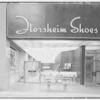 Florsheim Shoes, business at 515 5th Ave., New York City. Exterior at 8 p.m.