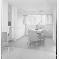 Harmon Homes, Phoenixville, Pennsylvania. View to dinette, house I