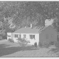 Harmon Homes, Phoenixville, Pennsylvania. View to road
