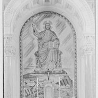 Immaculate Conception Seminary, Huntington, Long Island. Altar detail