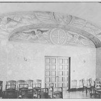 Immaculate Conception Seminary, Huntington, Long Island. Entrance wall
