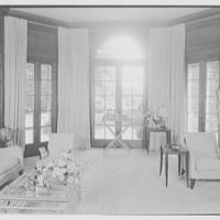 J.G. Herrara, residence in Mill Neck, Long Island. Library II