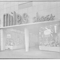 Miles Shoes, business at 216 W. 125th St., New York City. Exterior, horizontal