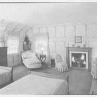 Mrs. Eleanor Workman Baldwin, residence in Greenwich, Connecticut. Bedroom