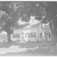Mrs. Harriet K. Morse, residence in Underhill Center, Vermont. Front facade exterior