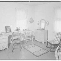 Mrs. Harriet K. Morse, residence in Underhill Center, Vermont. Large bedroom II
